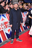 Ant McPartlin<br /> arrives for the Britain's Got Talent 2018 auditions, Palladium Theatre, London<br /> <br /> <br /> ©Ash Knotek  D3373  28/01/2018
