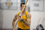 COLLEGE STATION, TX - MARCH 11: Hunter Veith of Wichita State competes in the pole vault component of the men's heptathlon during the Division I Men's and Women's Indoor Track & Field Championship held at the Gilliam Indoor Track Stadium on the Texas A&M University campus on March 11, 2017 in College Station, Texas. (Photo by Michael Starghill/NCAA Photos/NCAA Photos via Getty Images)