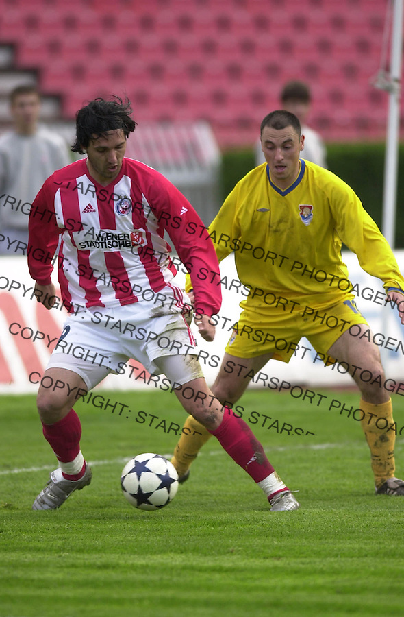 SPORT FUDBAL CRVENA ZVEZDA OBILIC Stojanovic 13.04.2004. foto: Pedja Milosavljevic<br />