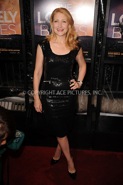 WWW.ACEPIXS.COM . . . . . ....December 2 2009, New York City....Actress Patricia Clarkson arriving at the 'The Lovely Bones' premiere at the Paris Theatre on December 2, 2009 in New York City.....Please byline: KRISTIN CALLAHAN - ACEPIXS.COM.. . . . . . ..Ace Pictures, Inc:  ..(212) 243-8787 or (646) 679 0430..e-mail: picturedesk@acepixs.com..web: http://www.acepixs.com