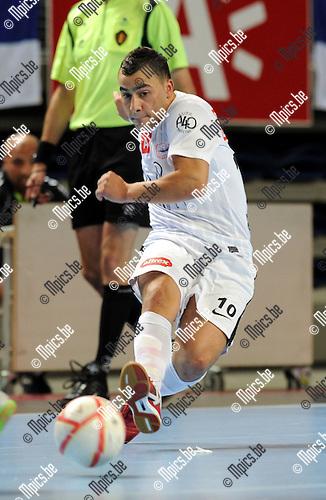 2011-10-08 / Futsal / seizoen 2011-2012 / Antwerpen / Amar Zouggaghi..Foto: Mpics
