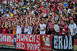 Bayern Munich fans during the International Champions Cup match between FC Bayern and FC Internazionale at National Stadium on July 27, 2017 in Singapore. Photo by Marcio Rodrigo Machado / Power Sport Images