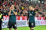 04.11.2018, Opel-Arena, Mainz, GER, 1 FBL, 1. FSV Mainz 05 vs SV Werder Bremen, <br /> <br /> DFL REGULATIONS PROHIBIT ANY USE OF PHOTOGRAPHS AS IMAGE SEQUENCES AND/OR QUASI-VIDEO.<br /> <br /> im Bild: Frust bei Max Kruse (SV Werder Bremen #10) und Johannes Eggestein (SV Werder Bremen #24)<br /> <br /> Foto © nordphoto / Fabisch