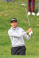 Rafa Cabrera Bello (ESP) on the 1st during Round 1 of the Open de Espana 2018 at Centro Nacional de Golf on Thursday 12th April 2018.<br /> Picture:  Thos Caffrey / www.golffile.ie<br /> <br /> All photo usage must carry mandatory copyright credit (&copy; Golffile | Thos Caffrey)