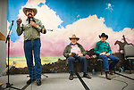 25th Annual National Cowboy Poetry Gathering sponsored by the Western Folklife Center, Elko, Nev....Off The Page 13 with Bill Lowman, Jack Walther and Jess Howard