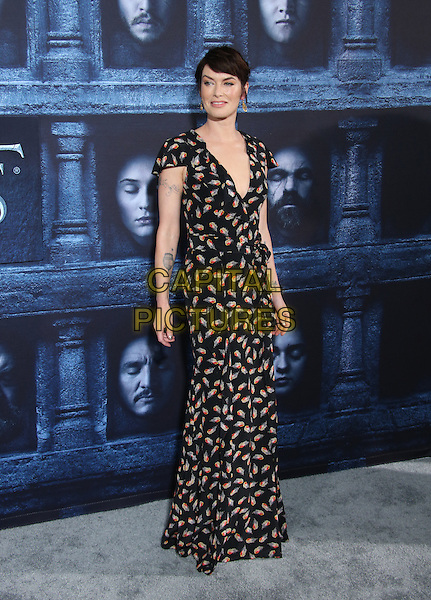 Hollywood, CA - April 10 Lena Headey Attending Premiere Of HBO's &quot;Game Of Thrones&quot; Season 6 at The TCL Chinese Theatre On April 10, 2016. <br /> CAP/MPI/SAD<br /> &copy;SAD/MPI/Capital Pictures