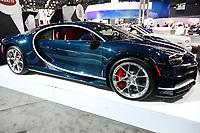 NEW YORK, EUA, 13.04.2017 - AUTOMÓVEL-NEW YORK - Bugatti é visto durante o New York Internacional Auto Show no Javits Center na cidade de New York nesta quinyta-feira, 13. O evento é aberto ao público do dia 14 à 23 de abril de 2017 . (Foto: Vanessa Carvalho/Brazil Photo Press)