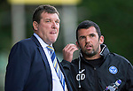 St Johnstone v Aberdeen...23.08.14  SPFL<br /> Tommy Wright and Callum Davidson<br /> Picture by Graeme Hart.<br /> Copyright Perthshire Picture Agency<br /> Tel: 01738 623350  Mobile: 07990 594431