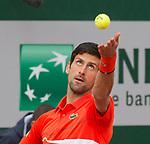Novak Djokovic (SRB) defeated Henri Lakksonen (SUI) 6-1, 6-4, 6-3