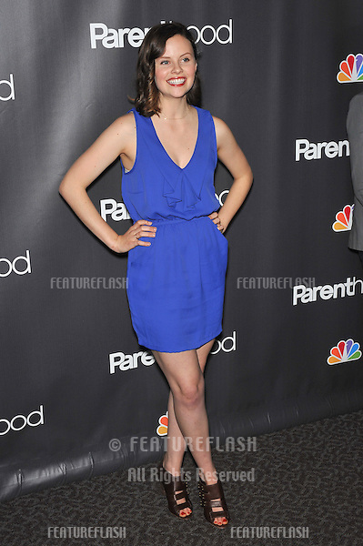"""Sarah Ramos at the premiere for her new NBC TV series """"Parenthood"""" at the Directors Guild of America..February 22, 2010  Los Angeles, CA.Picture: Paul Smith / Featureflash"""