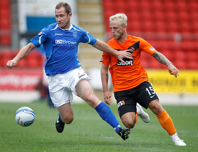 Frazer Wright and Johnny Russell