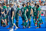 Krefeld, Germany, May 18: During the Final4 semi-final fieldhockey match between Mannheimer HC and Duesseldorfer HC on May 18, 2019 at Gerd-Wellen Hockeyanlage in Krefeld, Germany. (worldsportpics Copyright Dirk Markgraf) ***