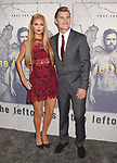 LOS ANGELES, CA - APRIL 04:  Model/actress Paris Hilton (L) and actor Chris Zylka attend the premiere of HBO's 'The Leftovers' Season 3 at Avalon Hollywood on April 4, 2017 in Los Angeles, California.