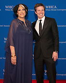Tammy Haddad and Jeff Glor arrive for the 2019 White House Correspondents Association Annual Dinner at the Washington Hilton Hotel on Saturday, April 27, 2019.<br /> Credit: Ron Sachs / CNP<br /> <br /> (RESTRICTION: NO New York or New Jersey Newspapers or newspapers within a 75 mile radius of New York City)