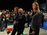 Roma 18th July 2009 - 13th Fina World Championships From 17th to 2nd August 2009..Roma 18 07 2009..Cerimonia di apertura dei Mondiali ..La squadra Italiana..photo: Roma2009.com/InsideFoto/SeaSee.com