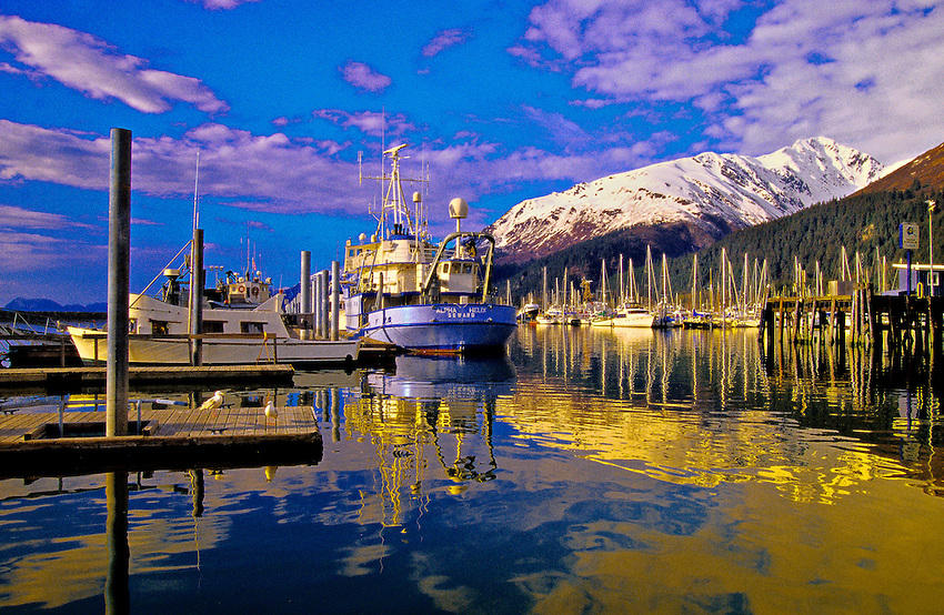 Harbor at Seward, Alaska USA | Blaine Harrington III