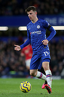 Mason Mount of Chelsea in action during Chelsea vs Manchester United, Premier League Football at Stamford Bridge on 17th February 2020