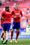 Fernando Torres of Atletico de Madrid warming up during the La Liga match between Atletico Madrid and Eibar at Wanda Metropolitano Stadium on May 20, 2018 in Madrid, Spain. Photo by Diego Souto / Power Sport Images