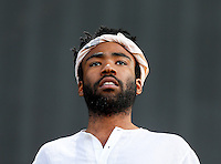 Childish Gambino during The New Look Wireless Music Festival at Finsbury Park, London, England on Saturday 04 July 2015. Photo by Andy Rowland.