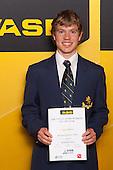 Boys Mountain Biking finalist Logan Callesen. ASB College Sport Young Sportsperson of the Year Awards held at Eden Park, Auckland, on November 24th 2011.