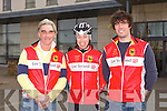 CYCLING TOUR: Member's of Tralee cycling club at the Manor West hotel on Sunday l-r: Mike Costello, Sean Cooke and Stephen Costello.