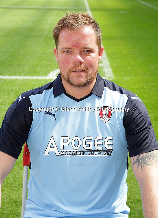 Andy Willert - Rotherham United 2016-17, Rotherham, United Kingdom, 23rd August 2016. Photo by Glenn Ashley.