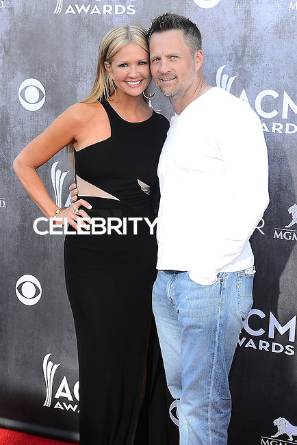 LAS VEGAS, NV, USA - APRIL 06: Nancy O'Dell, Keith Zubchevich at the 49th Annual Academy Of Country Music Awards held at the MGM Grand Garden Arena on April 6, 2014 in Las Vegas, Nevada, United States. (Photo by Celebrity Monitor)