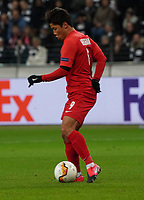 Hee-Chan Hwang (RB Salzburg, #09) - 20.02.2020: Eintracht Frankfurt vs. RB Salzburg, UEFA Europa League, Hinspiel Round of 32, Commerzbank Arena DISCLAIMER: DFL regulations prohibit any use of photographs as image sequences and/or quasi-video.