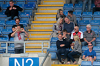 Fleetwood Town fans enjoy the match atmosphere<br /> <br /> Photographer David Shipman/CameraSport<br /> <br /> The EFL Sky Bet League One - Oxford United v Fleetwood Town - Saturday August 11th 2018 - Kassam Stadium - Oxford<br /> <br /> World Copyright &copy; 2018 CameraSport. All rights reserved. 43 Linden Ave. Countesthorpe. Leicester. England. LE8 5PG - Tel: +44 (0) 116 277 4147 - admin@camerasport.com - www.camerasport.com