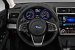 Car pictures of steering wheel view of a 2018 Subaru Legacy Premium 4 Door Sedan