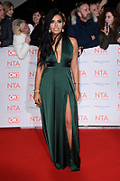 Cara De La Hoyde<br /> arriving for the National Television Awards 2018 at the O2 Arena, Greenwich, London<br /> <br /> <br /> ©Ash Knotek  D3371  23/01/2018