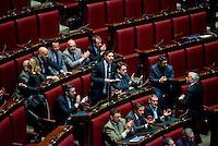 Roma, 6 Febbraio 2014<br /> Camera dei Deputati - Voto sul decreto legge 'Svuota carceri'<br /> L'intervento di Nicola Molteni della Lega Nord