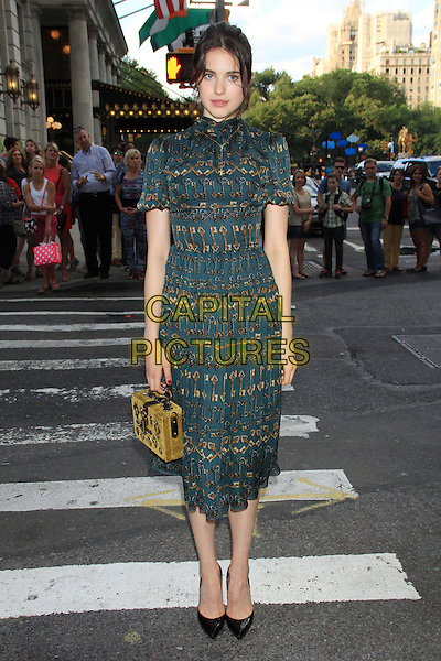 NEW YORK, NY - JULY 17: Margaret Qualley at the New York Premiere of &quot;Magic in the Moonlight&quot; at the Paris Theatre on July 17, 2014 in NEW YORK CITY<br /> CAP/LNC/TOM<br /> &copy;TOM/LNC/Capital Pictures