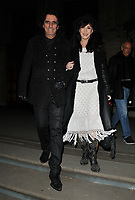 Alice Cooper and Sheryl Goddard at the &quot;The Adoration Trilogy: Searching For Apollo&quot; by Alistair Morrison opening gala, Victoria &amp; Albert Museum, Cromwell Road, London, England, UK, on Monday 13 November 2017.<br /> CAP/CAN<br /> &copy;CAN/Capital Pictures