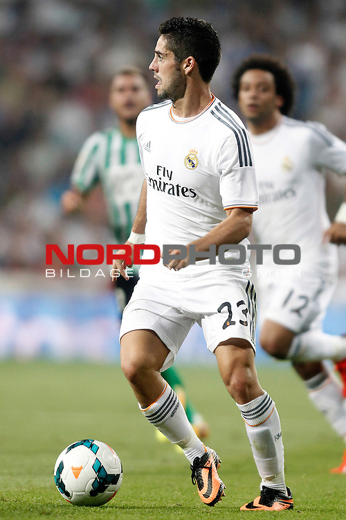 Real Madrid's Isco during La Liga match.August 18,2013. Foto © nph / Acero)
