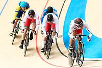 Picture by Alex Whitehead/SWpix.com - 09/12/2017 - Cycling - UCI Track Cycling World Cup Santiago - Velódromo de Peñalolén, Santiago, Chile - Japan's Yuta Wakimoto wins in the Men's Keirin first round.