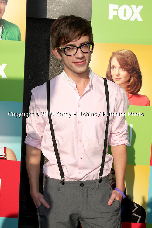 """LOS ANGELES - JUL 27:  Kevin McHale arrives at Fox's """"Glee"""" Academy: An Evening of Music With the Cast of Glee at The Music Box & Henry Fonda Theater on July27, 2010 in Los Angeles, CA ..."""