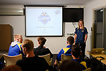 BRISBANE, AUSTRALIA - AUGUST 9:  during the Brisbane Strikers Academy Session at Meakin Park on August 9, 2019 in Brisbane, Australia. (Photo by Patrick Kearney)