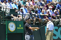 Francesco Molinari (ITA) tees off the 10th tee during Saturday's Round 3 of the 118th U.S. Open Championship 2018, held at Shinnecock Hills Club, Southampton, New Jersey, USA. 16th June 2018.<br /> Picture: Eoin Clarke | Golffile<br /> <br /> <br /> All photos usage must carry mandatory copyright credit (&copy; Golffile | Eoin Clarke)