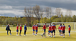 040512 Rangers training