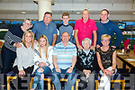 Peter Melody, Kilmoyley celebrating his 70th birthday with family at the Kingdom Greyhound stadium on Saturday Pictured front l-r kerrie Melody, Fraya Melody, Peter Melody, Rita Maunsell, Josie Whitehead Back l-r Cathy Maunsell, Johnny Maunsell, Guy Melody, Kipper Whitehead and Gerard Melody