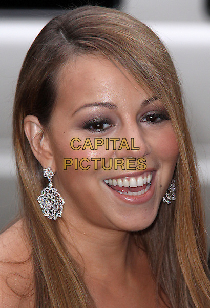 MARIAH CAREY.2009 Fresh Air Fund Salute To American Heroes held at Tavern On The Green, New York, NY, USA..June 4th, 2009.headshot portrait dangling silver earrings .CAP/ADM/PZ.©Paul Zimmerman/AdMedia/Capital Pictures.