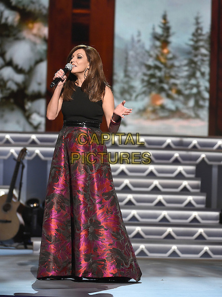 07 November 2015 - Nashville, Tennessee - Martina McBride. 2015 CMA Country Christmas held at the Grand Ole Opry House.  <br /> CAP/ADM/LF<br /> &copy;Laura Farr/AdMedia/Capital Pictures