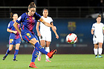 Spanish Women's Football League Iberdrola 2017/18 - Game: 9.<br /> FC Barcelona vs Madrid CFF: 7-0.<br /> Vicky Losada.