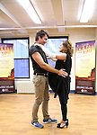 Rachel Bloom and Jerry O'Connell during the Press Rehearsal for the Manhattan Concert Production of 'Crazy For You'  at Pearl Studios on February 16, 2017 in New York City.