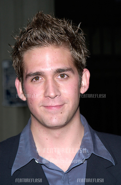 Actor ERIC SZMANDA at the 3rd Annual TV Guide Awards in Los Angeles..2001.   © Paul Smith/Featureflash