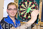 IRISH TEAM: Dale 'The Bullet' McCarthy from Milltown who has been selected this week for the Irish U-21 Darts Team.