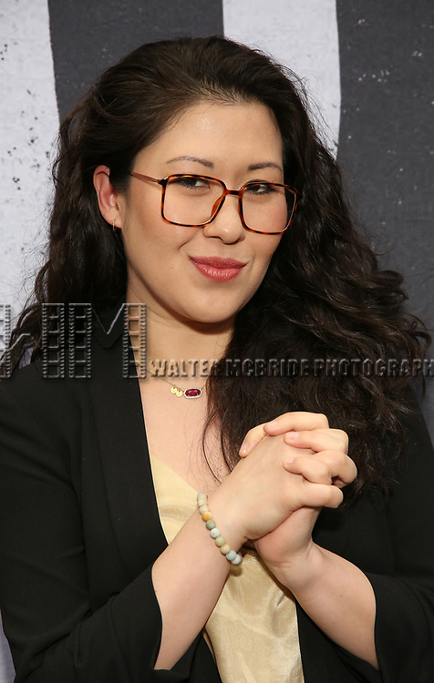 """Ruthie Ann Miles attends the Broadway Opening Night Performance for """"Beetlejuice"""" at The Wintergarden on April 25, 2019  in New York City."""