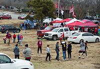NWA Democrat-Gazette/BEN GOFF @NWABENGOFF<br /> Fans tailgate Saturday, Nov. 29, 2019, before the game vs Missouri at War Memorial Stadium in Little Rock.