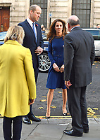 07/11/2019 - Kate Duchess of Cambridge Katherine Catherine Middleton and Prince William Duke of Cambridge during the launch of the National Emergencies Trust at St Martin-in-the-Fields in Trafalgar Square, London. The National Emergencies Trust is an independent charity which will provide an emergency response to disasters in the UK. Photo Credit: ALPR/AdMedia